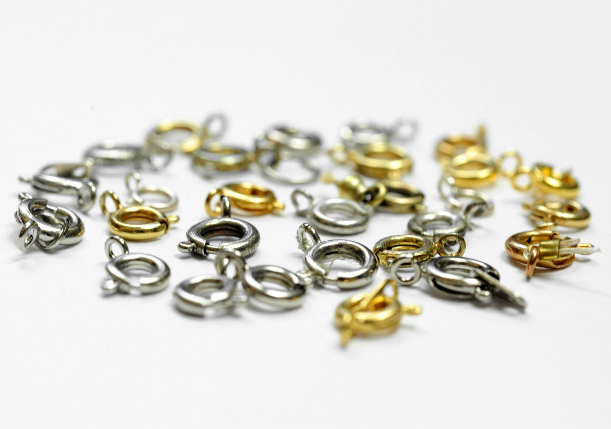 5 Grams of Mixed Metal Spring Rings