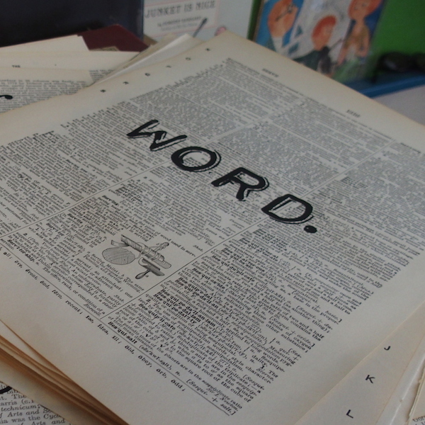 Dictionary Page Print - Word.