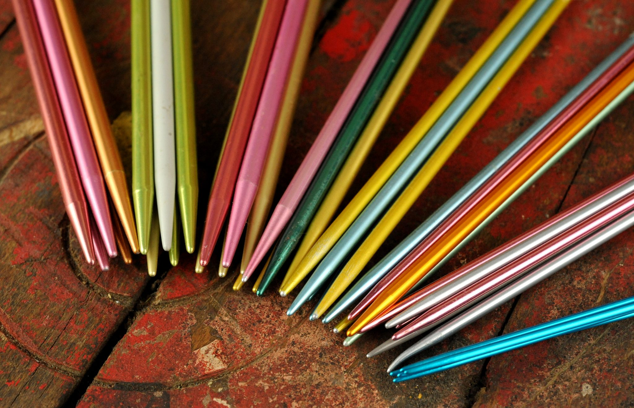 Double Pointed Knitting Needles